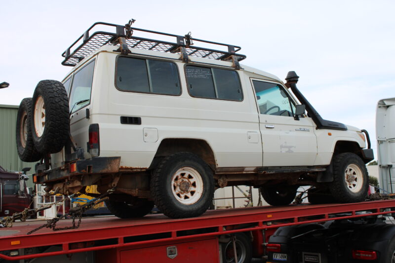 V8 Landcrusier from perth auctions
