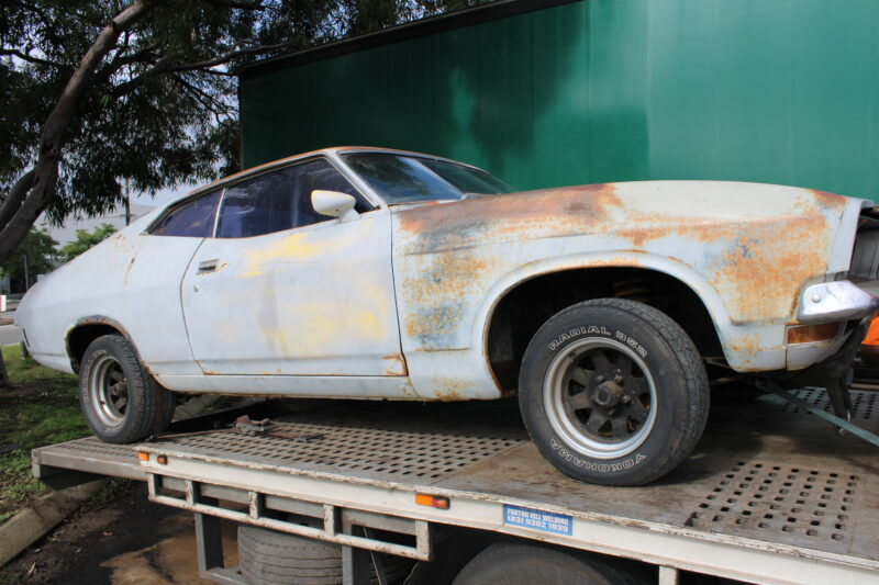 XB Falcon Coupe Transported Perth to Melbourne