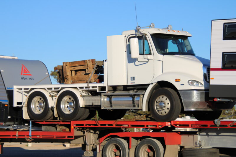 Freightliner Truck Transport to perth