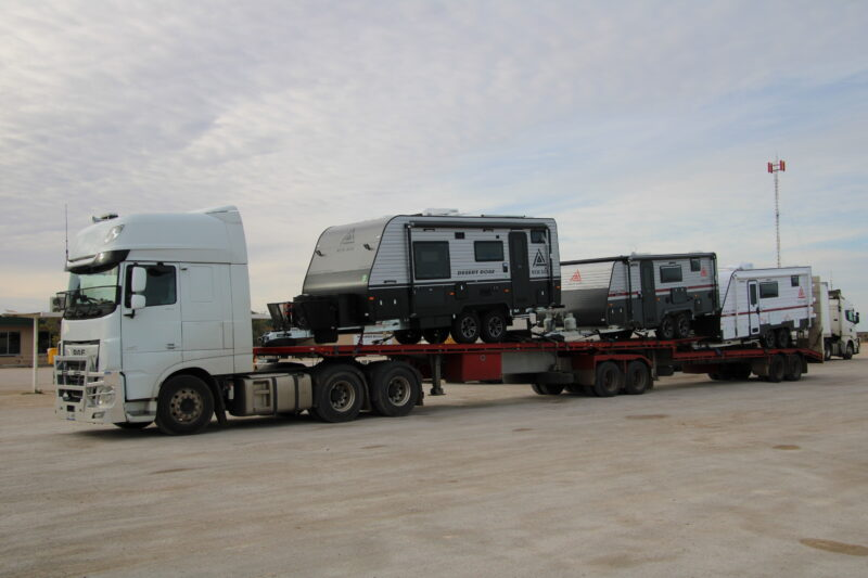 3 New Age Caravans from Melbourne to Port Headland
