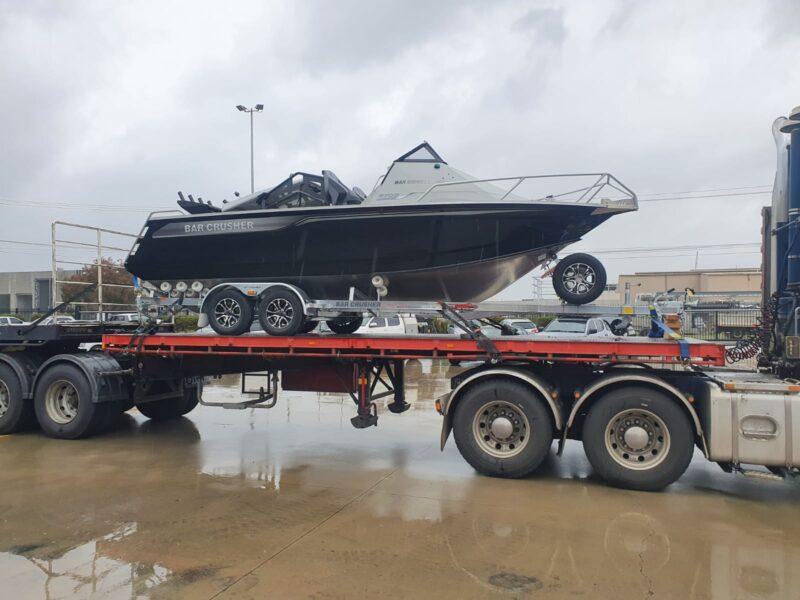 New Bar crusher boat