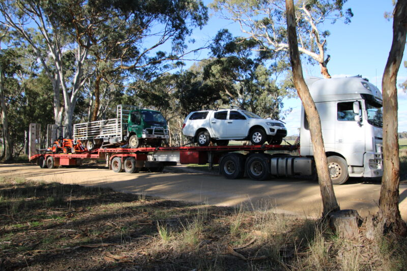 Truck Transport From Perth