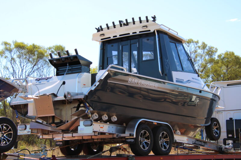 BarCrusher 780 HTP transported to Darwin