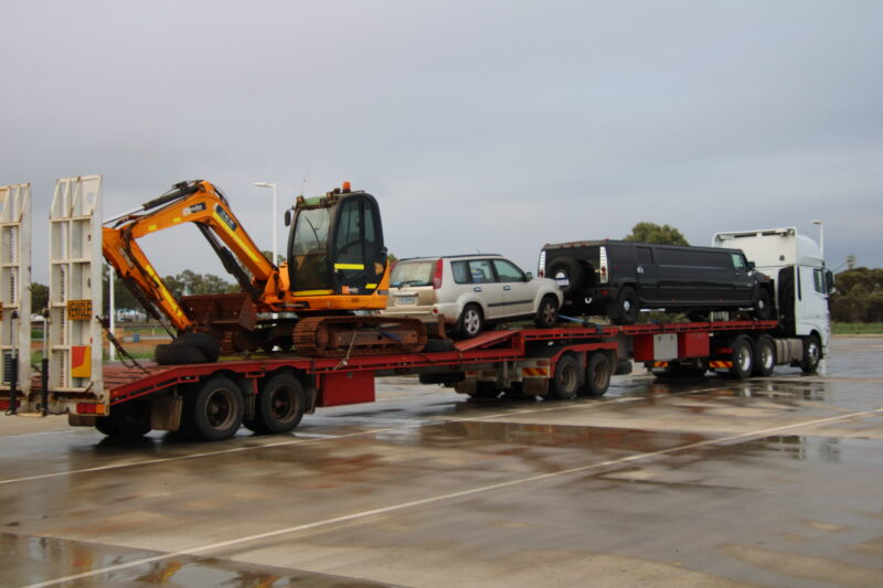 Jcb 8085 and A New addition to Exquisite Limousines Melbourne