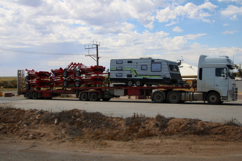 WMI Feeders transported to Perth